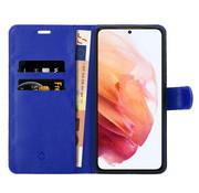 Coverzs Samsung Galaxy S21 bookcase hoesje (blauw)