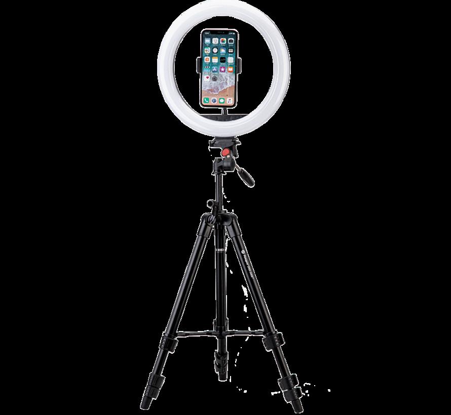 Fotopro L4 tripod met selfielamp