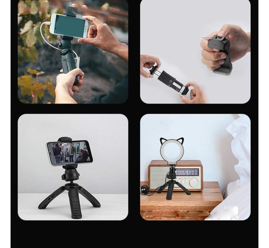 Fotopro L2 tripod met selfielamp