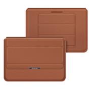 "E-Tree Multifunctional Laptop Sleeve bruin 15"""