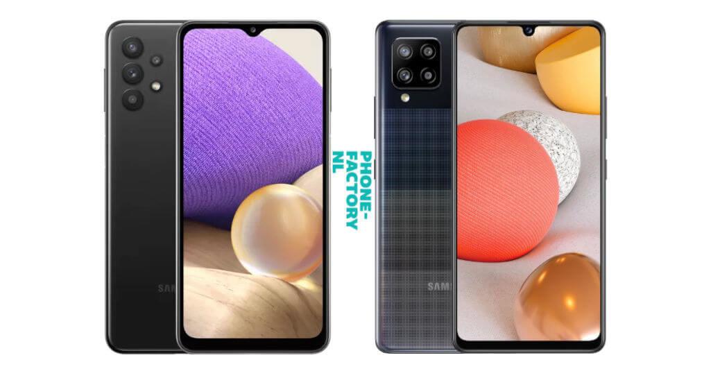 Samsung A32 vs A42 (5G Galaxy Smartphones)
