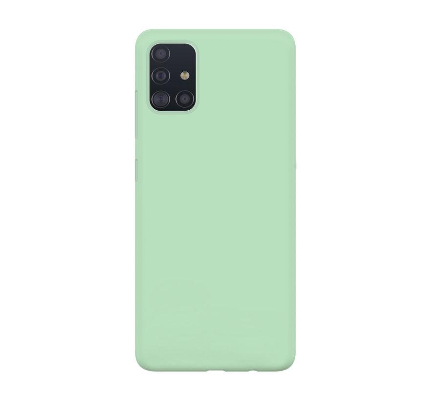 xoxo Wildhearts Pantone siliconen hoesje Samsung Galaxy A71 (groen)