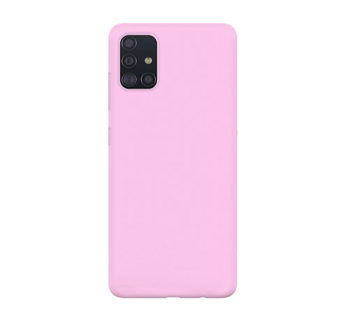 xoxo Wildhearts xoxo Wildhearts Pantone siliconen hoesje Samsung Galaxy A71 (roze)