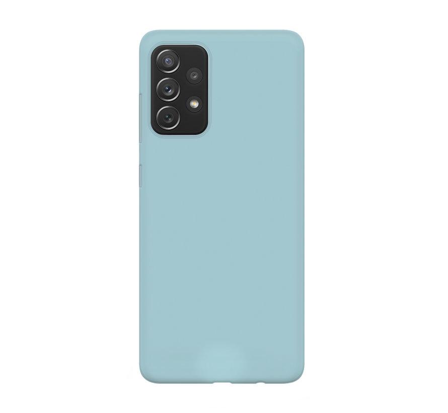 xoxo Wildhearts Pantone siliconen hoesje Samsung Galaxy A52 (blauw)