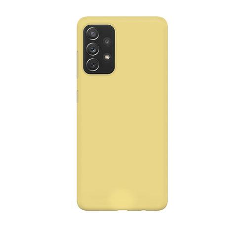 xoxo Wildhearts xoxo Wildhearts Pantone siliconen hoesje Samsung Galaxy A52 (geel)