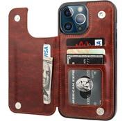ShieldCase® iPhone 13 Pro Max wallet case (bruin)