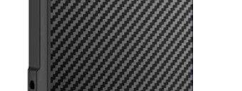 Carbon fiber structuur op iPhone 13 shock case