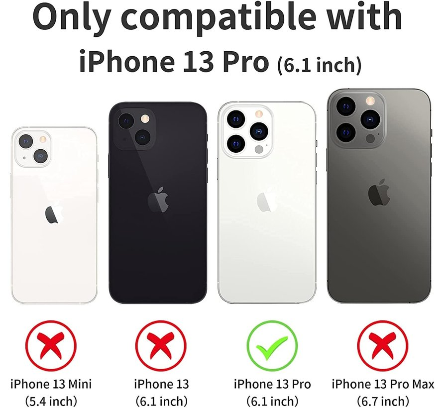 ShieldCase doorzichtig hoesje iPhone 13 Pro