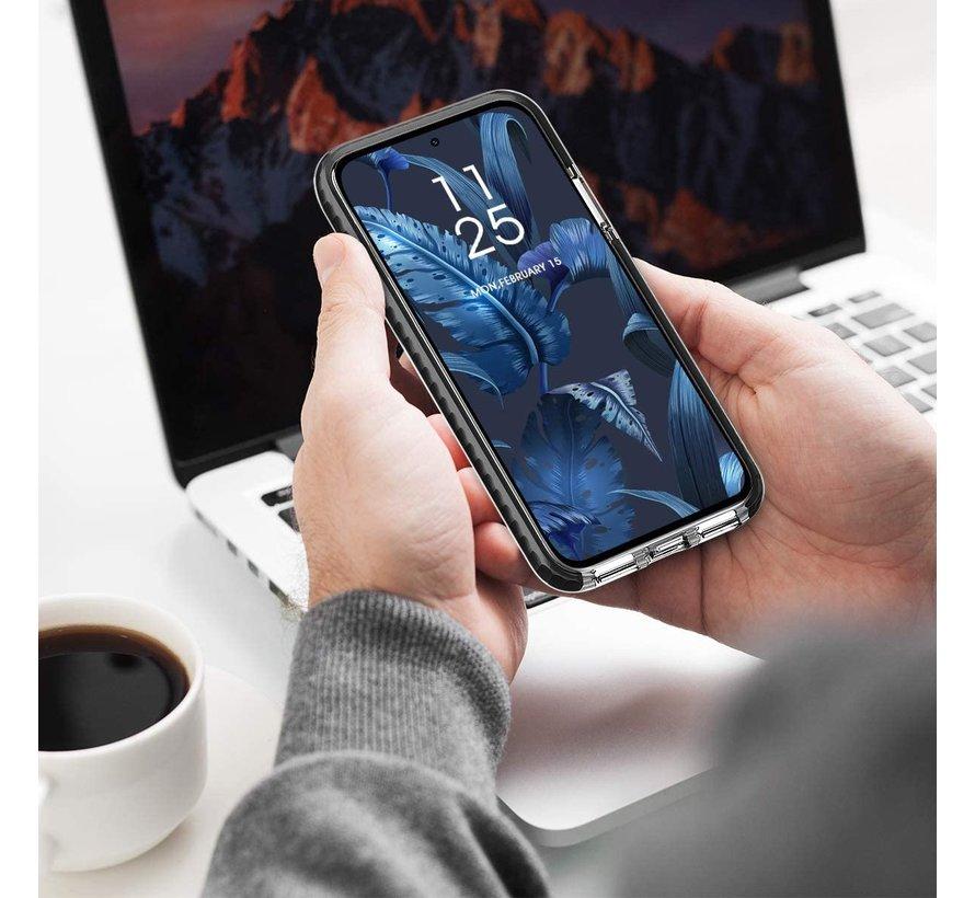 ShieldCase Bumper case Samsung Galaxy A51 (transparant-zwart)