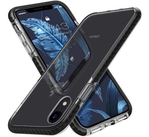 ShieldCase® ShieldCase Bumper case iPhone Xr (transparant-zwart)