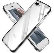 ShieldCase® Bumper case iPhone 7/8 Plus (transparant-zwart)