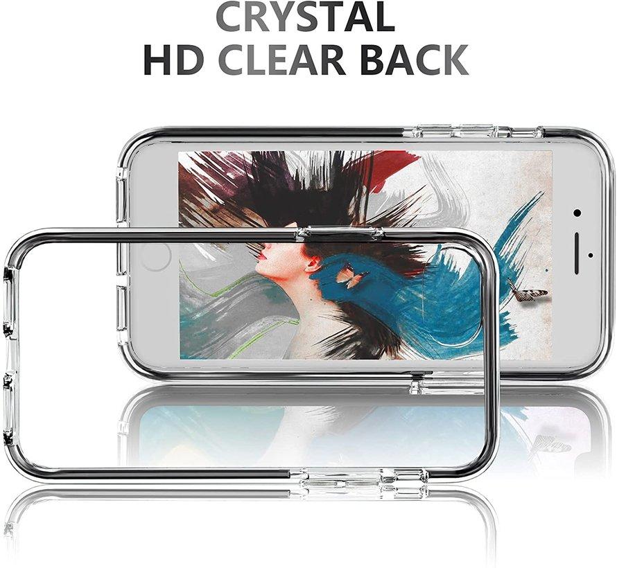 ShieldCase Bumper case iPhone 7/8 Plus (transparant-zwart)