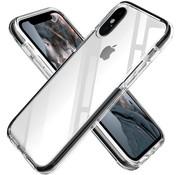 ShieldCase® Bumper case iPhone X/Xs (transparant-zwart)