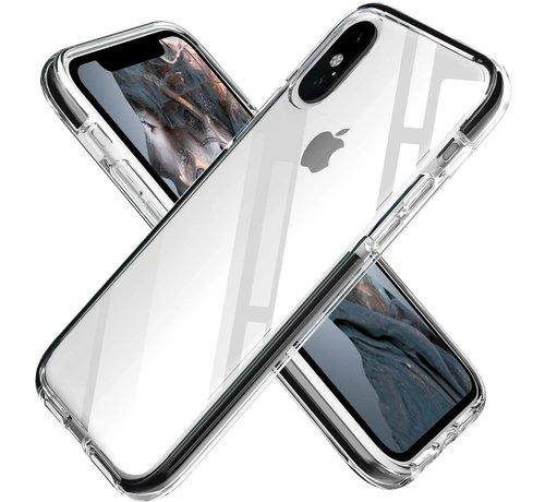 ShieldCase® ShieldCase Bumper case iPhone X/Xs (transparant-zwart)