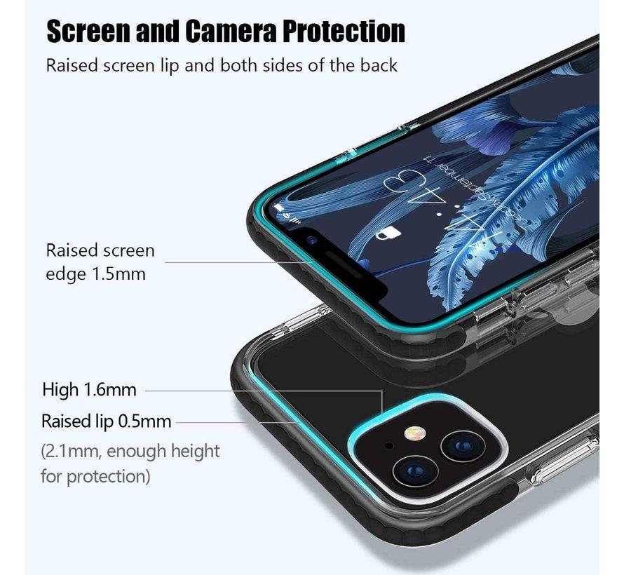 ShieldCase Bumper case iPhone 11 (transparant-zwart)