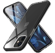 ShieldCase® Bumper case iPhone 12 Mini (transparant-zwart)