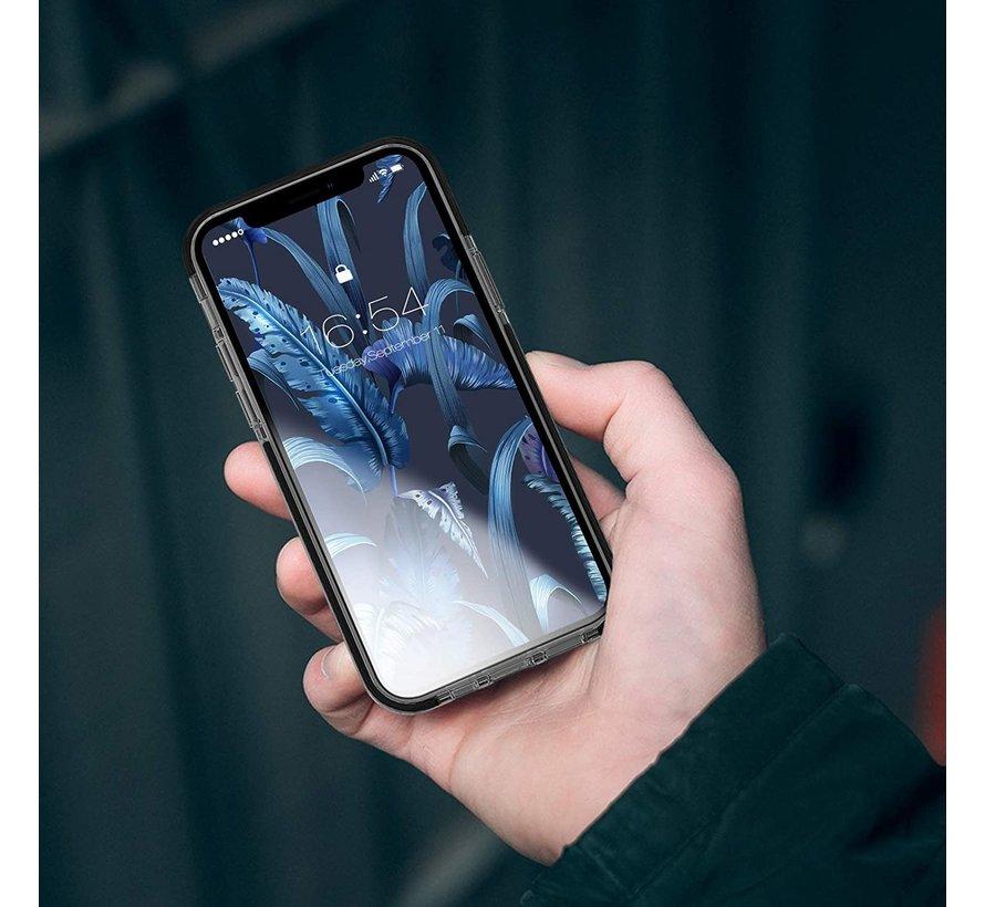 ShieldCase Bumper case iPhone 12 Mini  (transparant-zwart)