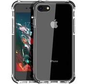 ShieldCase® Bumper case iPhone 7/8/SE 2020 (transparant-zwart)