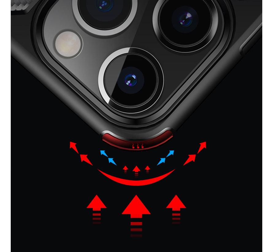 ShieldCase Carbon Shock Case iPhone 13 Pro (zwart)