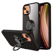 ShieldCase® iPhone 13 TPU hoesje met ring (zwart)