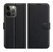 ShieldCase® iPhone 13 Pro wallet bookcase (zwart)