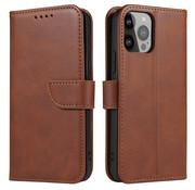 ShieldCase® iPhone 13 Pro bookcase (bruin)