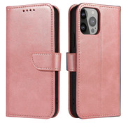 ShieldCase® iPhone 13 Pro bookcase (roze)