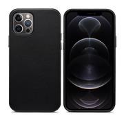 ShieldCase iPhone 13 Pro leren hoesje (zwart)