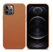 ShieldCase iPhone 13 Pro leren hoesje (bruin)