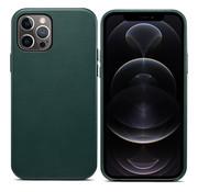 ShieldCase iPhone 13 Pro Max leren hoesje (groen)