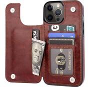 ShieldCase® iPhone 13 Pro wallet case (bruin)