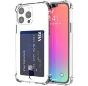 ShieldCase® Shock case met pasjeshouder iPhone 13 Pro
