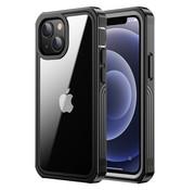 ShieldCase® Drielaags hoesje iPhone 13 (transparant-zwart)