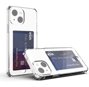 ShieldCase® Shock case met pasjeshouder iPhone 13