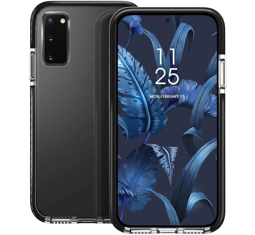 ShieldCase Bumper case Samsung Galaxy S10 Lite (transparant-zwart)