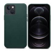 ShieldCase iPhone 13 leren hoesje (groen)