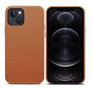 ShieldCase iPhone 13 leren hoesje (bruin)