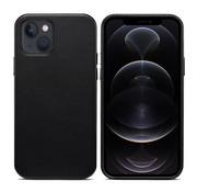 ShieldCase iPhone 13 leren hoesje (zwart)