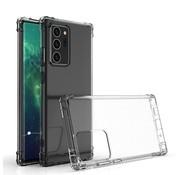 Ceezs Military Shockproof TPU hoesje Samsung Galaxy Note 20 Ultra (transparant)