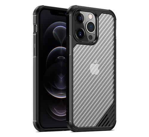 ShieldCase® ShieldCase Carbon Shock Case iPhone 13 Mini (zwart)