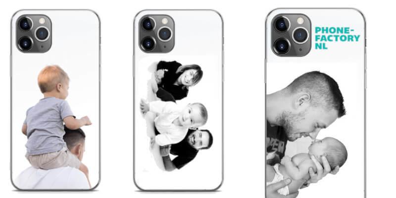 Gepersonaliseerd smartphonehoesje met foto voor sinterklaas