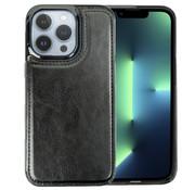 ShieldCase® iPhone 13 Pro wallet case (zwart)