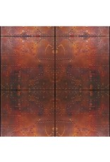 "Fondali Background cloth ""Steel doors"" on aluminum roll"