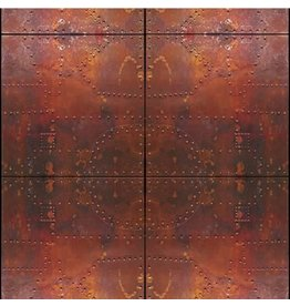 "Fondali Background cloth ""Steel doors"" on aluminum roll"