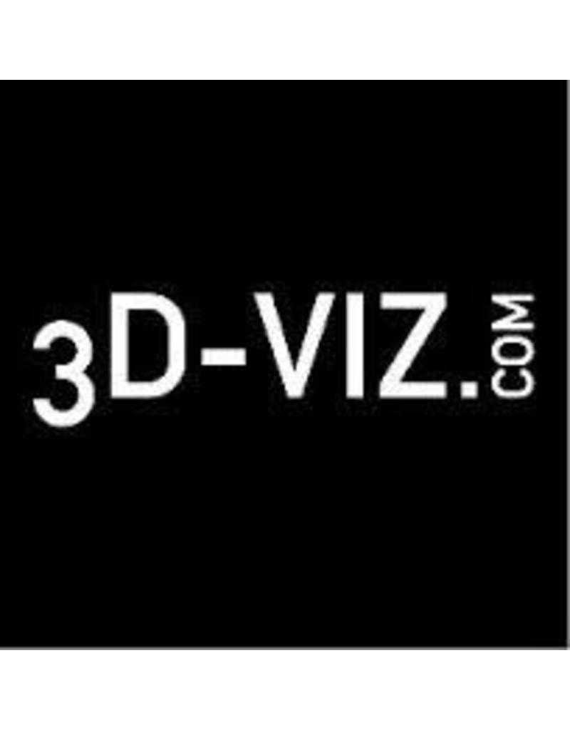 3D-Viz Aluminum plate set Ø 5 cm, Ø 10 cm, Ø 15 cm, Ø 20 cm