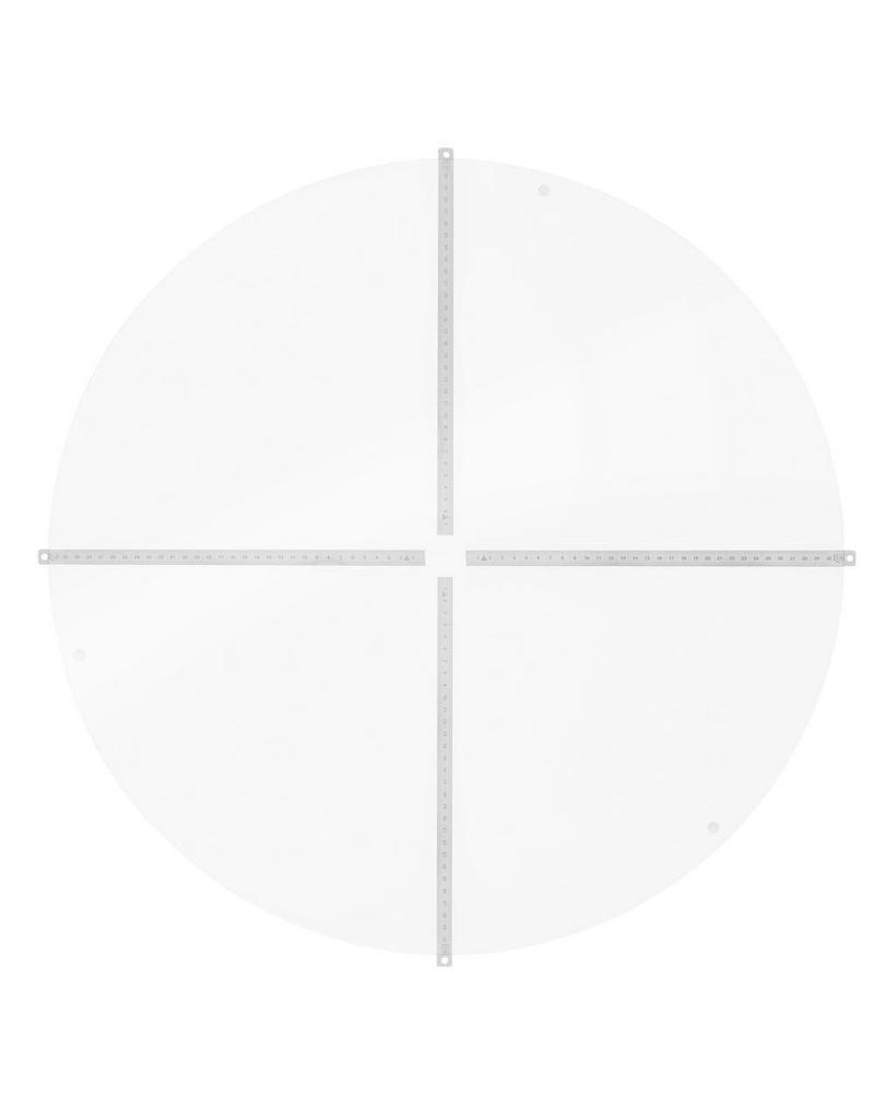3D-Viz Acrylic Plate 66cm Matt (overly)