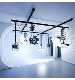 Bacht Compact Ceiling track system 5.0 x 5.0m + 5 pantographs