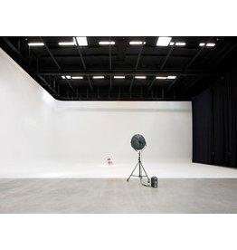 Bacht Rondwand  L-Vorm muurbocht met kwart bolvormig segment 4.0x 5.4 x 3.5m hoog, radius 90cm
