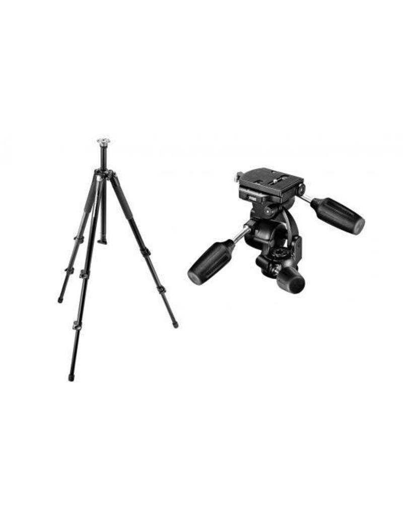 Camerastatief + 3-D Kop