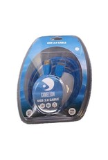 Cameleon Cameleon Tethering Kabel USB 3.0 Super Speed 3m Blauw